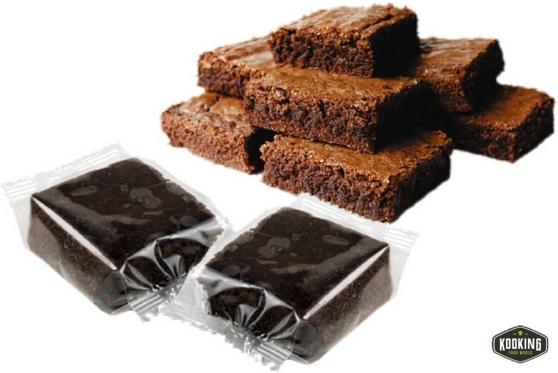 BROWNIE DOBLE CHOCOLATE 80gr (25und)