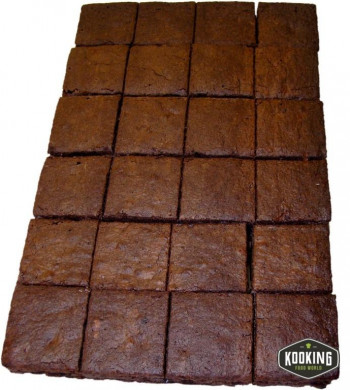 BROWNIE PLANCHA DOBLE CHOCOLATE 60gr (48und)