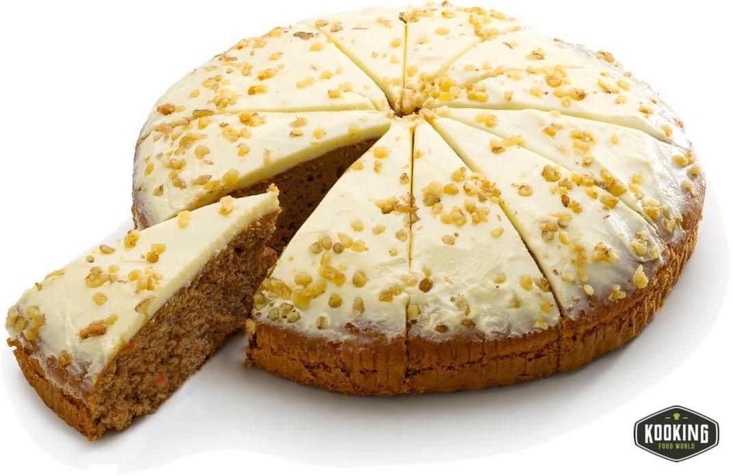 """TARTA DE ZANAHORIA \""""CARROT CAKE\"""" 26cm (115gr / 12 porciones)"""