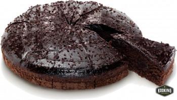 "TARTA MUERTE POR CHOCOLATE \""DOBLE CHOCO\"" 26cm (116gr / 12 porciones)"