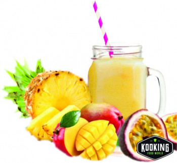 SMOOTHIE TROPICAL PASSION (PIÑA, MANGO Y MARACUYA) 150gr  12und