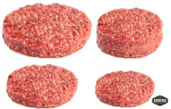 "HAMBURGUESA TERNERA ""RANCH GOURMET\"" 150gr (36und)"
