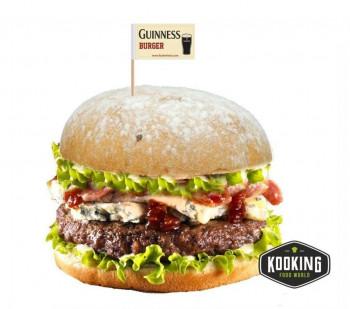 "KIT GUINNESS BURGER (6und) \""Pan+Carne+Salsa+Banderita\"""