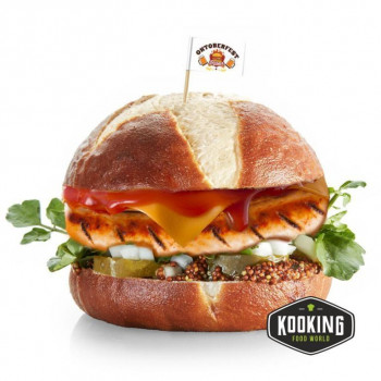 "KIT BURGER OKTOBERFEST  (6und) \""Pan+Carne+Salsa+Banderita\"""