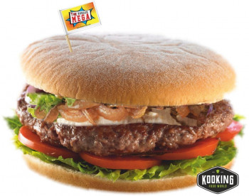 "KIT MEGA BURGER 220gr (4und) \""Pan+Carne+Salsa+Banderita\"""
