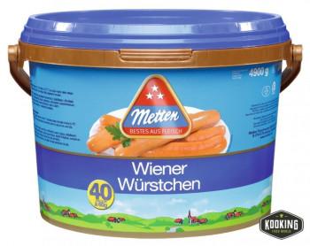 """SALCHICHA WIENER \""""WURSTCHEN\""""  18cm / 60gr (40und)"""
