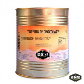 TOPPING DE CHOCOLATE (3kg)