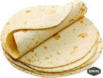 TORTILLA-WRAP (NATURAL) TRIGO 25cm (108und)