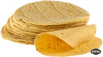 """TORTILLA-WRAP MAIZ \""""amarillo\"""" 16cm  (400und)"""