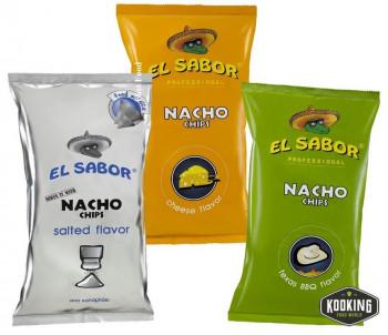 NACHOS CHIPS BBQ (8X500gr)