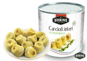 """CARCIOFI INTERI \""""ALCACHOFA EN CORAZONES\"""" (3kg)"""
