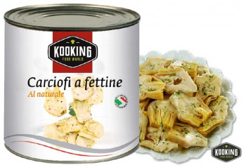 "CARCIOFI A FETTINE NATURAL.\""ALCACHOFA LAMINADA\"" (3kg)"