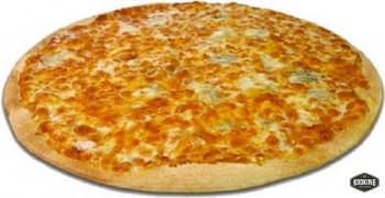 """PIZZA CUATRO QUESOS \""""SIN GLUTEN\"""" 25cm / 300gr (10und)"""
