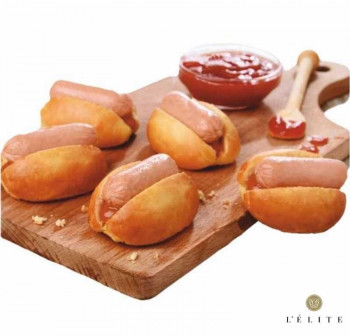 "MINI HOT DOG ""hecho\"" 30gr (90und)"