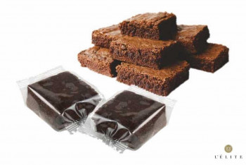 MINI BROWNIES DOBLE CHOCO 30gr  (48und)