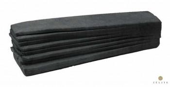 PAN TRAMENZZINO NEGRO 100gr / 46x10cm (40und)