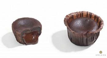 MINI FONDANT DE CHOCOLATE 30gr / 4cm (48und)