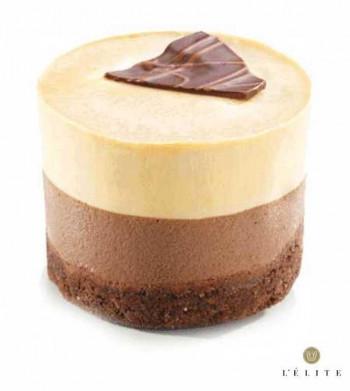 SABLE CHOCOLATE Y CARAMELO 90gr / 6cm (16und)